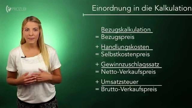 Der Gewinnzuschlagssatz | Wissen für die Ausbildung | Prozubi.de